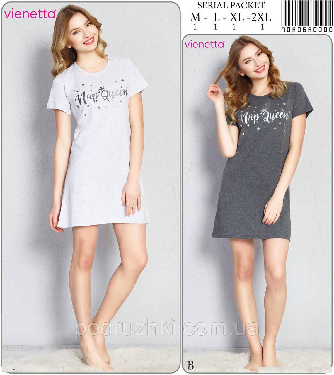Ночная сорочка женская (туника) VIENETTA