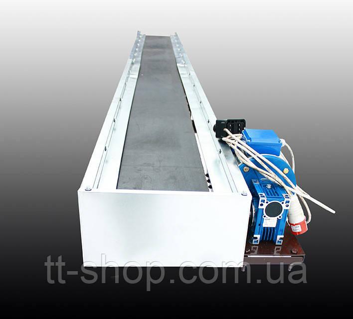 Ленточный конвейер длинной 2 м, ширина ленты 500 мм