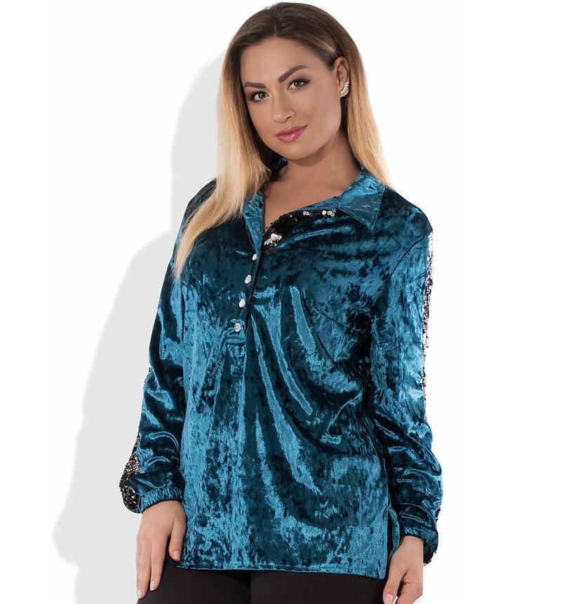 Рубашка в стиле фрак размеры от XL 3063