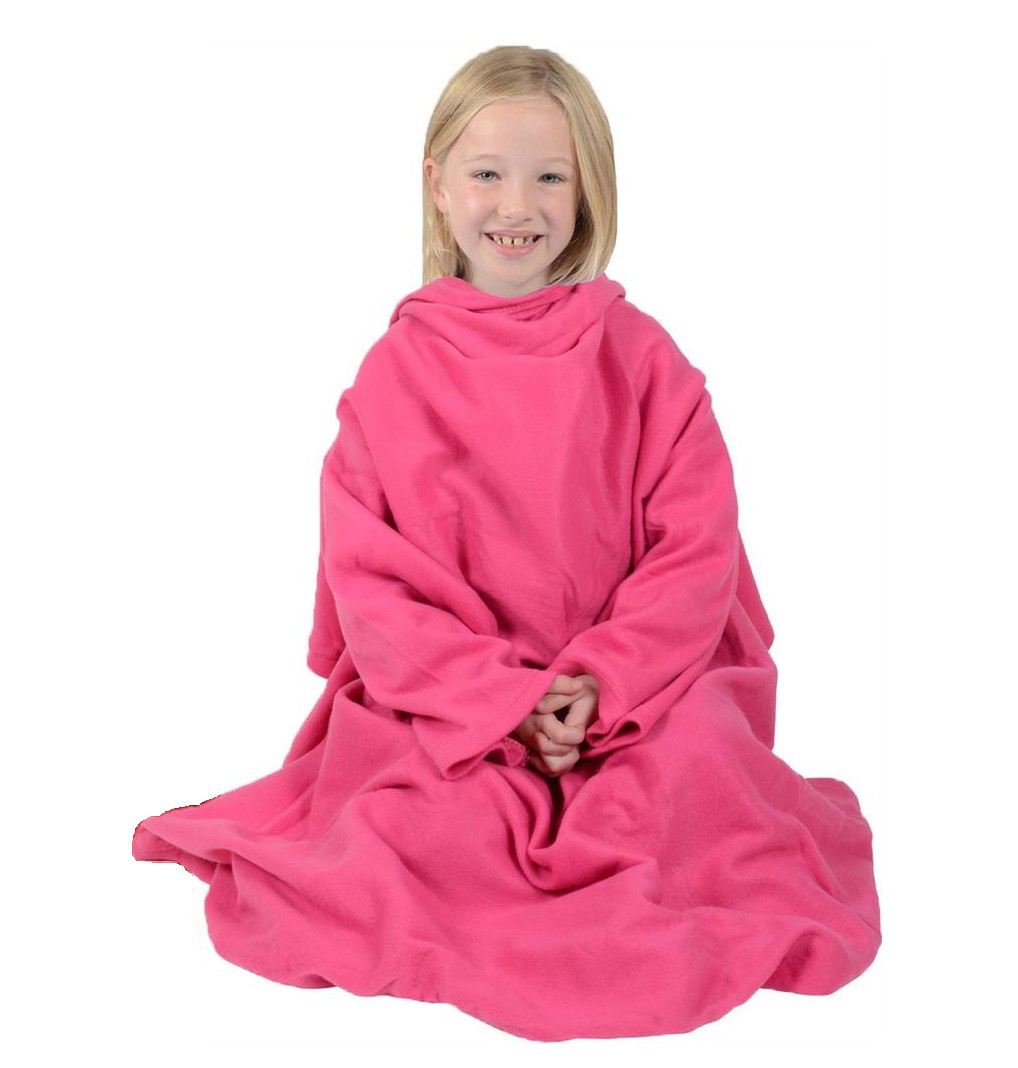Детский халат с рукавами Snuggie Blanket for Kids
