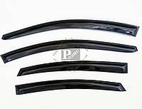 """Дефлектори вікон """"AV-Tuning"""" — Вітровики HYUNDAI Accent/Solaris Sd 2010-14 (на скотчі) Хюндай Акцент, фото 1"""