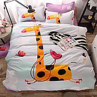 Уценка (дефекты)! Комплект постельного белья Giraffe (полуторный) Berni