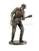 Коллекционная статуэтка Veronese Гитарист, серия Джазовые музыканты WU77180A4