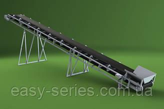 Ленточный конвейер шириной ленты 200 мм, длиной 1 м