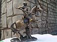 Статуэтка Veronese Средневековый рыцарь 27см 73740, фото 2