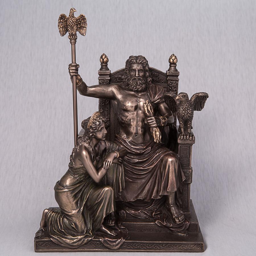 Статуэтка Veronese Зевс и Гера 28 см 76068