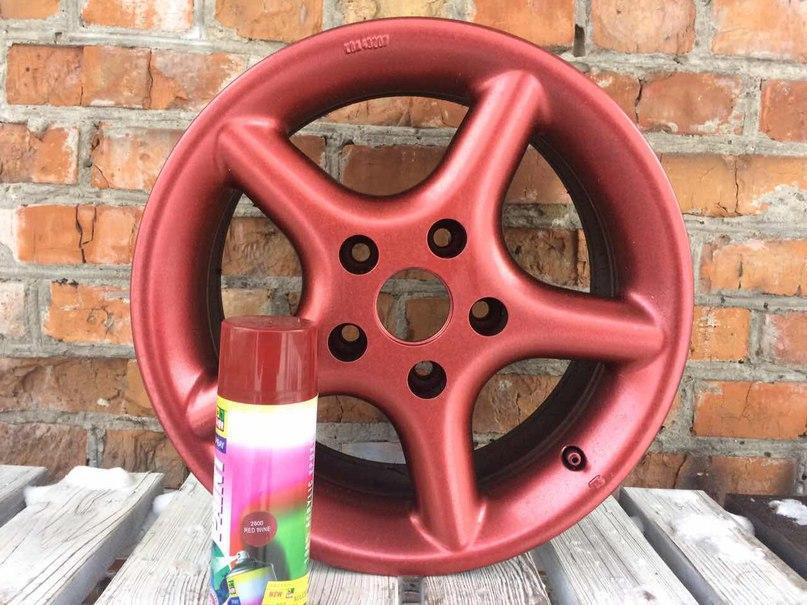Жидкая резина в баллончике BeLife (Красный металлик)