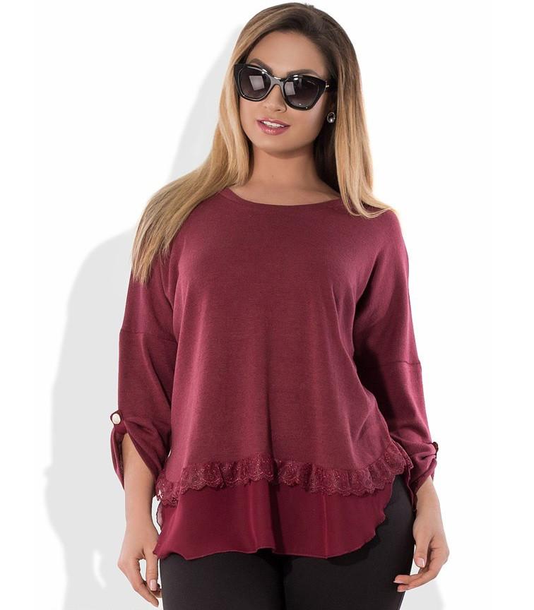 Блуза из ангоры размеры от XL 3065
