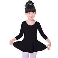 Детский купальник с юбкой для танцев (хлопок)