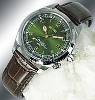 Мужские часы Seiko SARB017 Automatic Green Alpinist Зелёный Альпинист