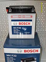 Мотоциклетный аккумулятор Bosch 0092M4F320 ,12V 16A/h 0 092 M4F 320 136x82x162
