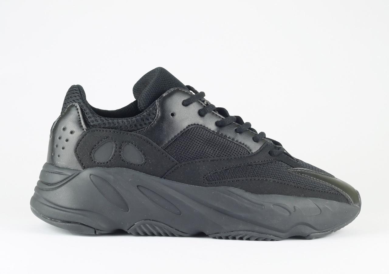 Мужские кроссовки Adidas Yeezy 700 Boost Black Gum, Копия