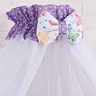 Балдахин на детскую кроватку (разные расцветки), фото 5