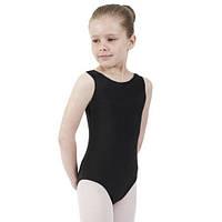 Купальник для гимнастики и танцев без рукава