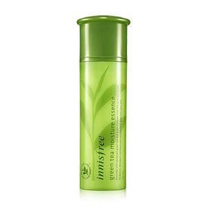 Увлажняющая эссенция с экстрактом зеленого чая для сухой кожи  Innisfree green tea moisture essence, 50 мл