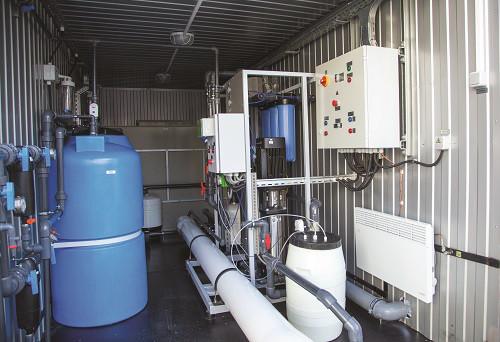 Модульная станция водоподготовки