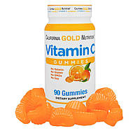 Витамин С жевательный, California Gold Nutrition, 90 штук