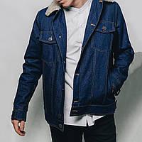 Джинсовая куртка с мехом MS 18