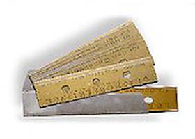FILMOP Леза для скребка затискного, коробка 250шт