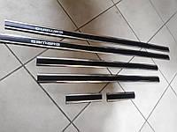 Молдинги на двери Лада, Ваз, Самара 2109, 21099, 3,5 см Турция Sahler