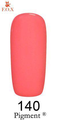 Гель-лак F.O.X. Pigment №140 Розовый персик 6 ml