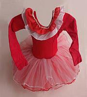 Танцевальная детская пачка с пышной юбкой