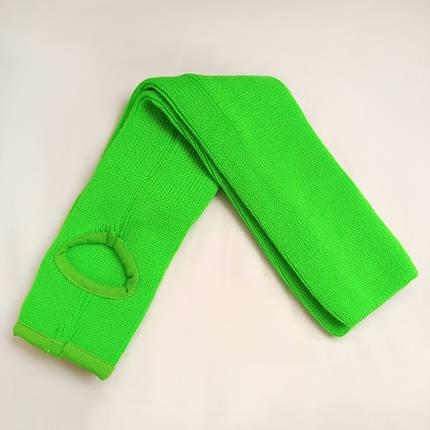 Детские вязаные гетры для танцев 35 см Зеленый для девочек до 10 лет, фото 2