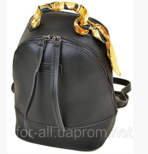 2ac2e90b26c2 Женская сумка рюкзак черная Alex Rai 10089 Black: продажа, цена в ...