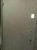 """Двері металеві """"Офіс титан"""" 960мм (крокодил з 2-х сторін) ліві ПП"""