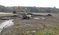Очистка озер, прудов, водоемов