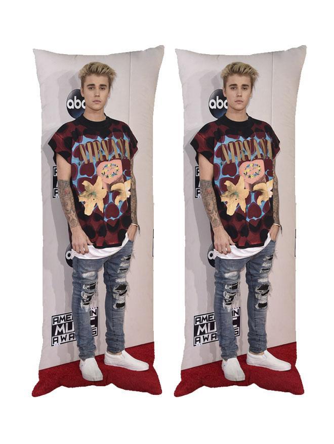 Дакимакура Justin Bieber Подушка Джастін Бібер 40*100 см