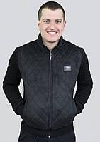 Куртка мужская замшевая на весну осень 50