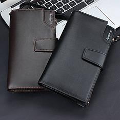 Новинка!!!Кожаный портмоне-клатч ручной работы Baellerry Itali Бизнесс