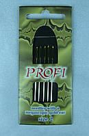 """Набор игл для вышивки различного размера """"profi""""."""