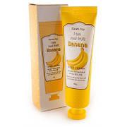 Крем для рук с экстрактам банана  FarmStay I AM REAL FRUIT BANANA HAND CREAM 100ml