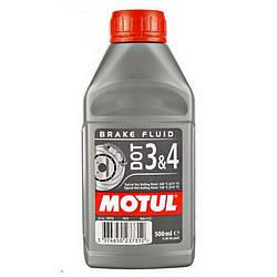 MOTUL DOT 3 4 BRAKE FLUID 1л