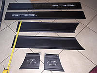 Молдинги на двери Лада, Ваз, Самара 2109, 21099 широкие 14 см Турция Sahler