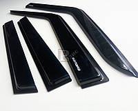 Дефлекторы окон ВАЗ 2109,21099,2114,2115 клеящиеся (на скотче) ветровики