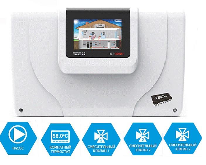 Польская автоматика для управления системой отопления TEСH ST 409N