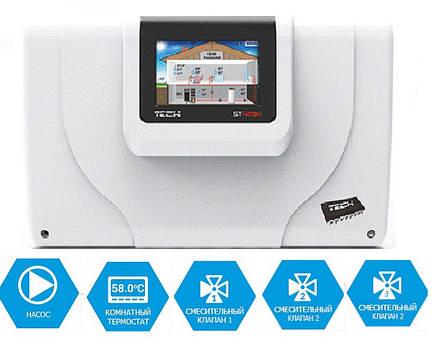 Польская автоматика для управления системой отопления TEСH ST 409N, фото 2