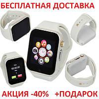Умные часы смарт A1 Smart Watch GT08 блистер Smartwatch точная копия Apple Watch GSM Camera