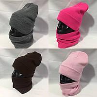 Демисезонная комплекты унисекс шапка и баф