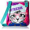 Сумка через плечо для девочки - Кошка  Accessories 22 Girls' Canvas Crossbody Bag Fresh Kitty