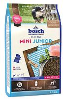 Корм Bosch (Бош) Mini Junior для щенков мелких пород, 3 кг