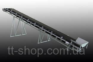 Ленточный желобчатый конвейер длинной 10 м, ширина ленты 400 мм, фото 3