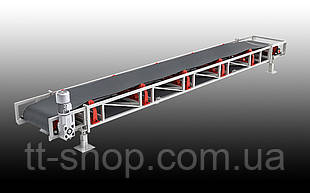 Ленточный желобчатый конвейер длинной 3 м, ширина ленты 500 мм