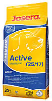 Josera Active 20 кг корм для взрослых активных собак, 20 кг