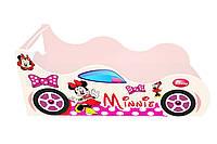 Ліжко-машинка Minni Міккі Маус рожева 1590*836 мм - 2916,00 грн.