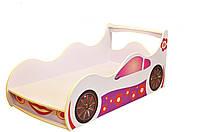 Кровать-машинка Лили светлая 1640*836 мм - 3019,00 грн.