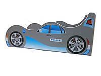 Кровать-машина POLICE серая с голубым 1440*736 мм - 2250,00 грн.